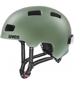 Čelada Uvex City 4 Moss green mat 55-58 cm