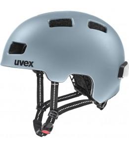 Čelada Uvex City 4 Spaceblue mat 55-58 cm