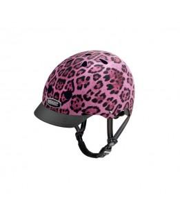 Nutcase čelada Pink Cheetah M