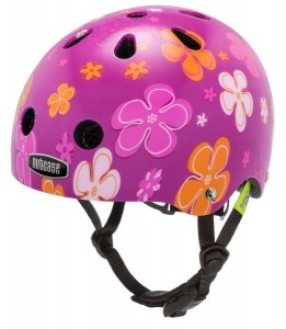 Nutcase čelada Baby Nutty Petal Power Street Helmet XXS