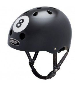 Nutcase čelada Little Nutty 8 Ball Street Helmet XS