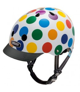 Nutcase čelada Little Nutty Dots Street Helmet XS