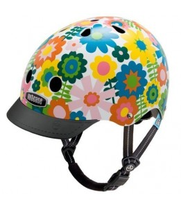 Nutcase čelada Little Nutty In Bloom Street Helmet XS