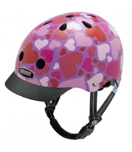 Nutcase čelada Little Nutty Lotsa Love Street Helmet XS