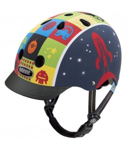 Nutcase čelada Little Nutty Space Cadet Matte Street Helmet XS