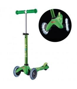Mini deluxe zelen z LED kolesi