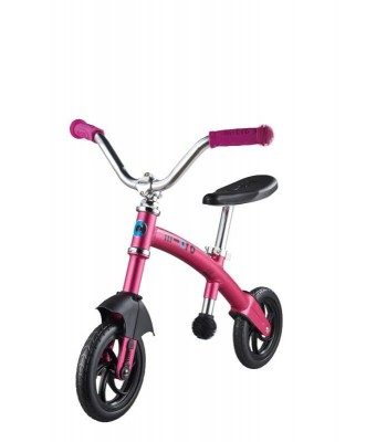 Poganjalec G-bike+ Chopper rožnat deluxe