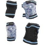 Ščitniki Micro za komolce in kolena modri XS