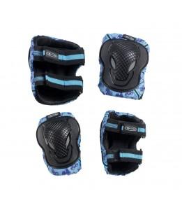 Ščitniki za komolce in kolena modri M