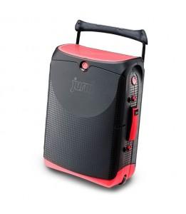 Jurni potovalni kovček rdeč