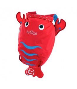 Trunki vodoodporni nahrbtnik rdeč