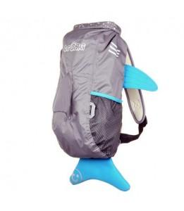 Trunki vodoodporni nahrbtnik morski pes siv L