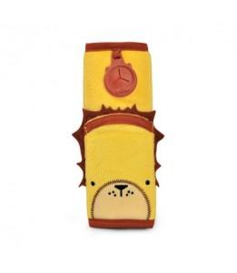 Trunki podloga za pas Seatbeltpad rumena