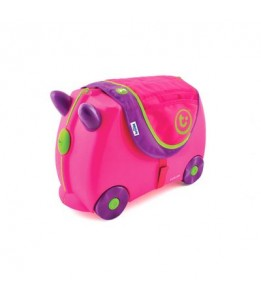 Trunki Saddle Bag rožnat